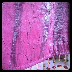 Gorgeous two-tone spaghetti strap purple dress
